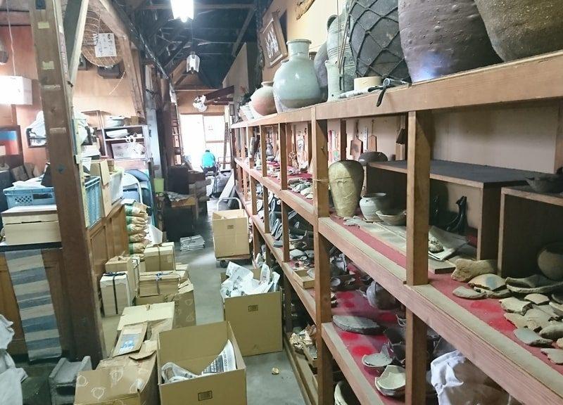 骨董品買取屋の裏側