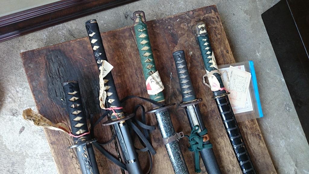 骨董品の買取対象3 日本刀