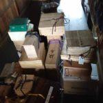 Hさん宅の蔵 柿右衛門茶器、茶道具、掛軸、めんこ