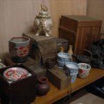 伊万里焼き・薩摩焼香炉(作家者)・鉄瓶・中国青磁器