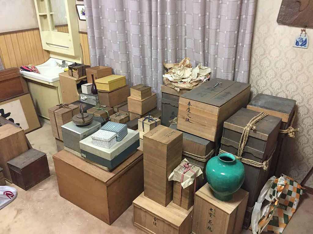 大樋焼茶碗・茶道具など/買取金額:65万円