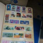 古い使用済み切手