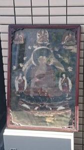 額入りの仏画
