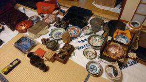様々な古道具(山梨県)