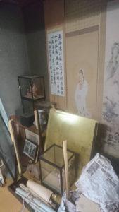 床の間の掛軸など(千葉県)